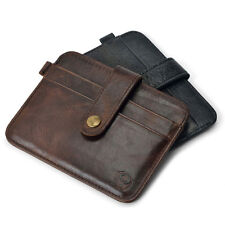 Fashion Leather Men Slim Credit Card Holder Mini Wallet ID Case Purse Bag Pouch