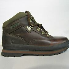JUNIOR BOYS CHILDRENS LEATHER TIMBERLAND EUROHIKER EURO HIKER BOOTS SHOES uk 6.5