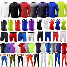 Compression Under Base Layer Body Armour Thermal Shorts Pants/Top/T-shirts Skins