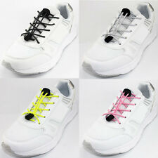 Elastic No Tie Shoelaces Round Shoe Laces For Sneakers Running Shoes, 1 Pair