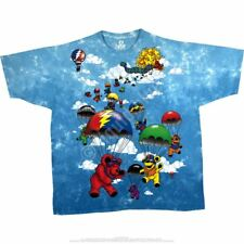 Grateful Dead - Parachuting Bears Tie Dye T Shirt