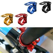 Cycling Road Bike MTB Seatpost Seat Post Clamp Quick Release QR Style 34.9mm