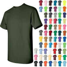 Gildan Mens Heavy Cotton Short Sleeve T-Shirt Cotton S-L  5000  Additional Color