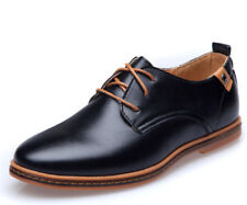 New Mens Casual Business Dress Formal Shoes Oxfords Flats Shoes England Lace Up