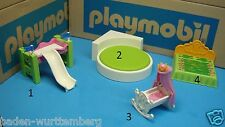 Playmobil  5583 modern house child-size bed / slide 5106 Cradle crib CHOOSE 178