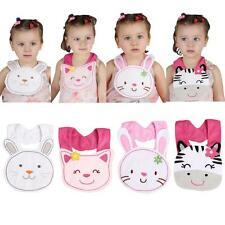 Newborn Cartoon Bibs Saliva Towel Bibs Toddler Infant Baby Boy Girl Kids Z3B6
