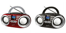 Supersonic MP3/CD Player FM Radio Portable Stereo Boombox SC506