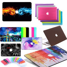 """Matte Hard Case + Keyboard Cover For Apple MacBook Air 11"""" 13"""" 13.3 15.4 inch"""