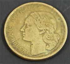 1950 France 20 Francs Republique Francaise Coin Liberte Egalite Fraternite