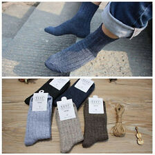New Men's Fashion Cotton Yarn Knitted Soft Socks Solid Color Sports Ankle Socks