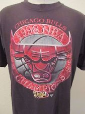 Chicago Bulls 1998 NBA Finals Championship T Shirt Starter Brand Mens Large L