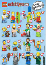 LEGO 71005 SIMPSONS SERIES LEGO MINIFIGURES BRAND NEW PICK THE FIGURE YOU WANT