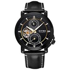 EYKI Luxury Watch Automatic Mechanical Movt 2 Function Small Dial Second 24Hours
