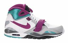 New Nike Men's Air Trainer SC II Shoes (443575-106)  White/Hyper Jade/Pink