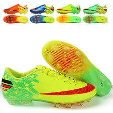 New Kids Youth Outdoor Soccer Cleats Shoes FG Soccer Football Trainers Sneakers