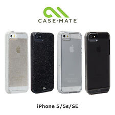 NEW Case-Mate Naked Tough Case for iPhone SE / 5S / 5 with Clear Bumper