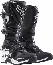 2016 Fox Racing Comp 5  Black Motocross Dirt-Bike MX ATV Adult Boots Size 12