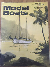 Model Boats Magazine - May 1967 - Plans & Drawings for various boats
