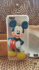 MICKEY MOUSE-Transparent hard back MOBILE Case Cover Phone iPhone 5C/5/4/4s/6/6S