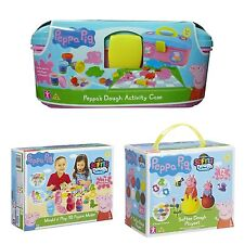Peppa Pig Dough Sets Modelling Clay Craft Creative Play Toys Doh Figures New