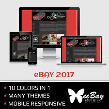 Professional Dynamic eBay Auction Listing Template New Design Package Store Shop