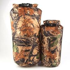 CAMOUFLAGE Camping Fishing Military DRY BAG WATERPROOF SACK POUCH Storage 8L/15L