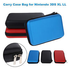 EVA Skin Carry Hard Case Bag Pouch Shell Holder for Nintendo 3DS XL LL W/Strap