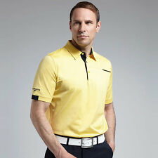 """GLENMUIR RILEY LUXURY PIPING DETAIL GOLF POLO SHIRT """"NEW FOR SUMMER 2016"""""""