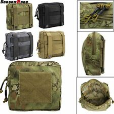 1000D Molle Utility EDC Tools Drop Pouch Tactical Accessory Pouch Bag 4 Colors