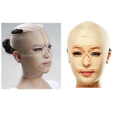Full Face Treatment Mask Neck Chin Lift Wrinkle Tight Slimming Band Strap M-XXL