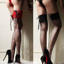 Top Sale Net Pattern Stockings Fashion Sexy Over Knee Thigh High for Ladies Girl