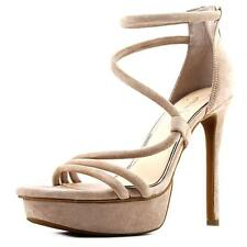 Jessica Simpson Caela   Open Toe Leather  Platform Heel NWOB