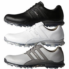 ADIDAS GOLF ADIPURE CLASSIC GOLF LEATHER WATERPROOF SHOES NEW 2016