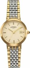 Rotary Ladies Two-tone Quartz Bracelet Wrist Watch. LB03497/03