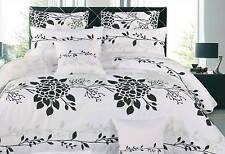 leaf Tree pattern 2in1 Reversible Quilt cover 3pcs QUEEN / KING doona cover set