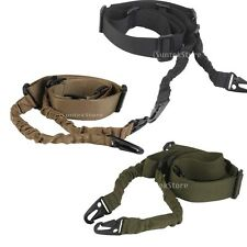Tactical Dual-Point Adjustable Hunting Rifle Shotgun Sling Bungee Straps Cord