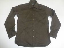 Ted Baker brown shirt, large mens, size 4 - S2416