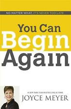 You Can Begin Again by Joyce Meyer Paperback Book