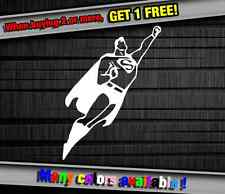 SuperHero Superman DC Marvel Funny Vinyl Sticker Decal Graphic Car Truck Wall