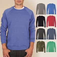 Alternative Apparel The Champ Eco Fleece Crew Sweatshirt Pullover AA9575 XS-3XL