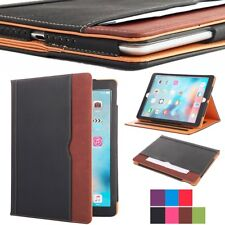 New Luxury Classic Soft Leather Smart Auto Sleep Wake Stand Case For Apple iPad