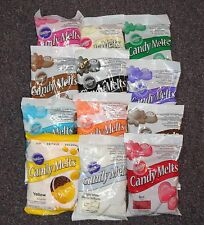 Candy Melts, Wilton Melting Candy Coating,Multi-color,Cake Pops,12 oz.Dipping