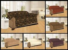 SOFA SLIP COVER / SOFA PET PROTECTOR (QUILTED JACQUARD)  IN 3 SIZES
