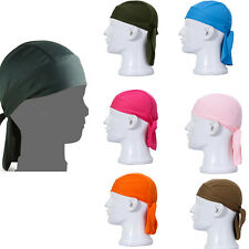 Lovely Cycling Bike Bicycle Sports Headscarf Pirate Bandana Hat 11 Colors SE