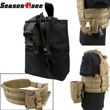 1000D Nylon Tactical Molle Folding Dump Drop Pouch Black Coyote Brown