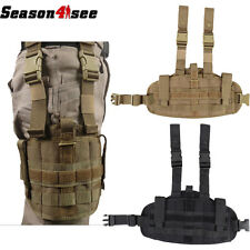 1PC Tactical Military Airsoft Molle Versatile Drop Leg Pistol Gun Holster Pouch