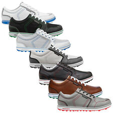 ASHWORTH MENS CARDIFF ADC SPIKELESS GOLF SHOES - NEW WATERPROOF SUMMER 2016