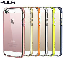 iPhone SE Case ROCK® [Light Tube Series] Hybrid Case Cover for iPhone SE/5S