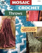 Mosaic Crochet Throws ~ 7 Colorful Afghans, Annie's crochet patterns