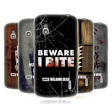 OFFICIAL AMC THE WALKING DEAD TYPOGRAPHY SOFT GEL CASE FOR LG PHONES 3
